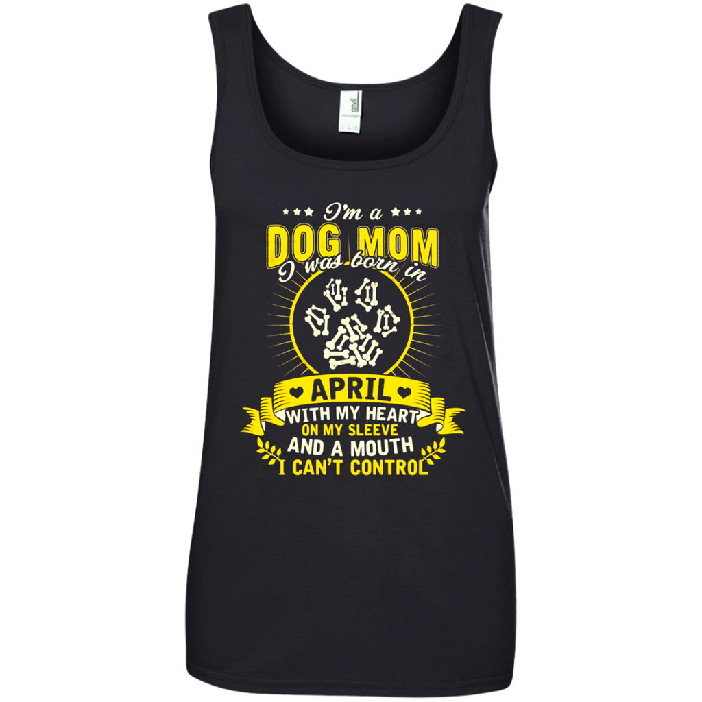 A Dog Mom Born In April T-shirt Aries Pride