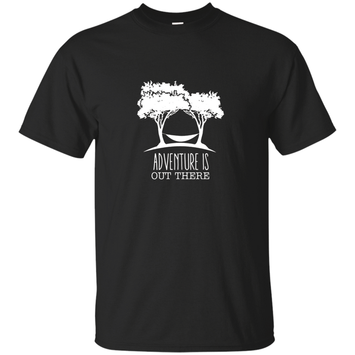 Adventure Is Out There Hammock Wild Camping T Shirt
