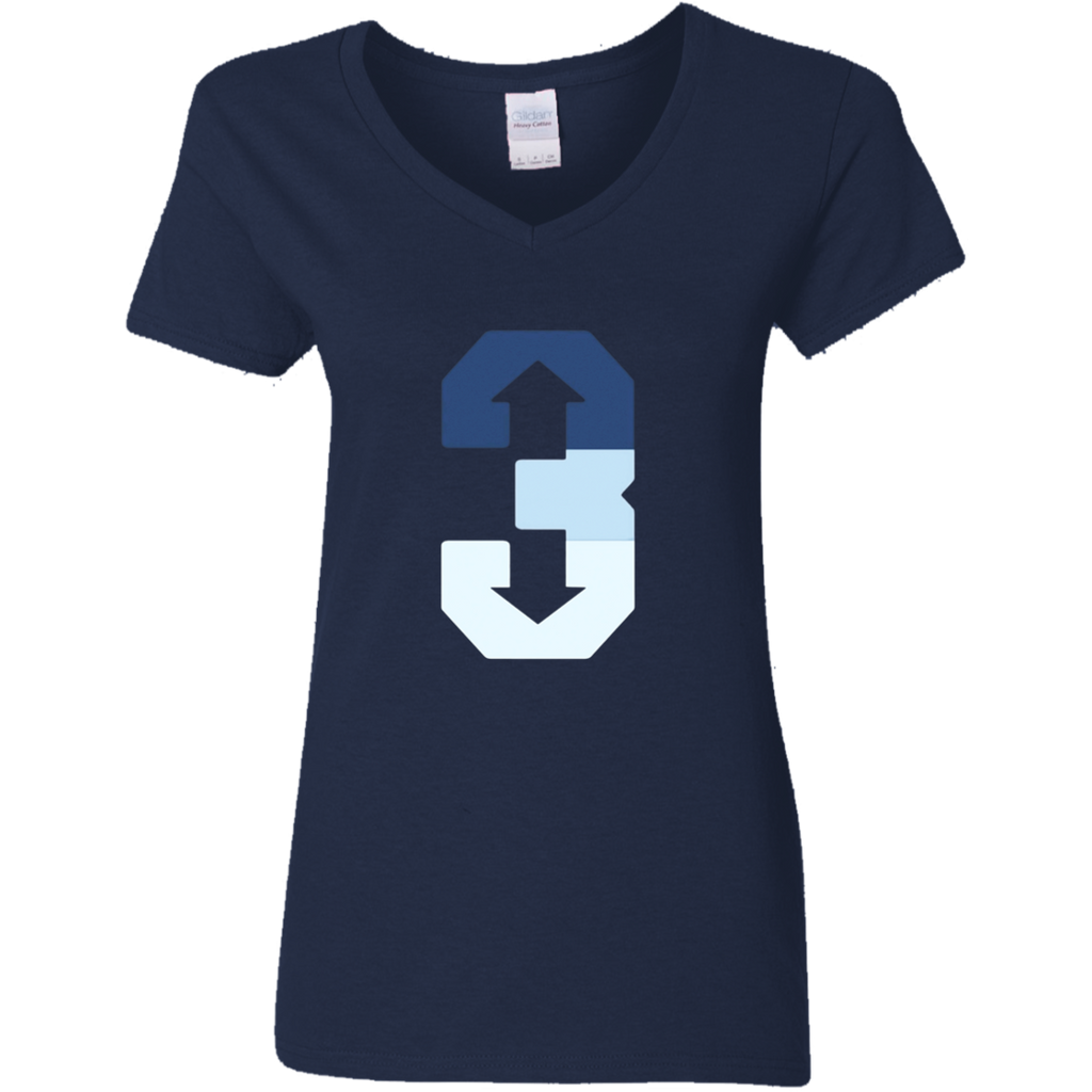3 up 3 down T-shirt Baseball shirt
