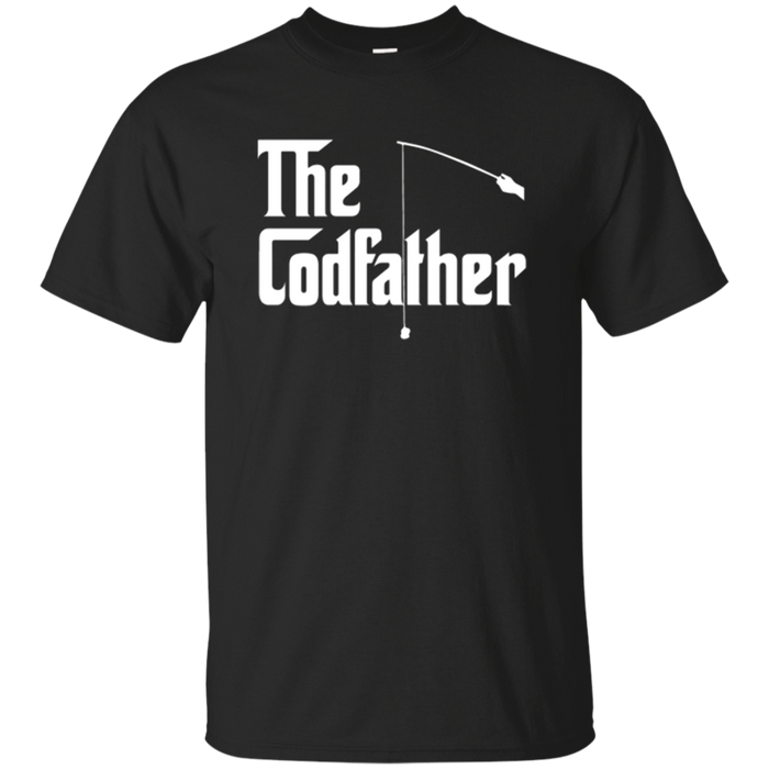 Mens The CodFather Fishing T Shirt