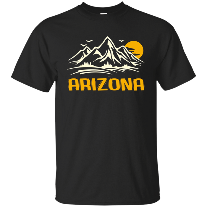 Retro Arizona T-Shirt Distressed Hiking Tee