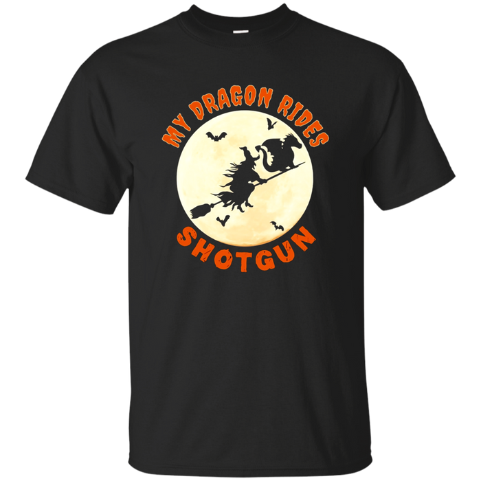 Funny Dragon Halloween T-Shirt For Parents and Kids