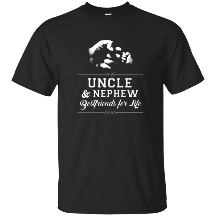 Men's Uncle Nephew Friends Fist Bump TShirt Avuncular Family Cool