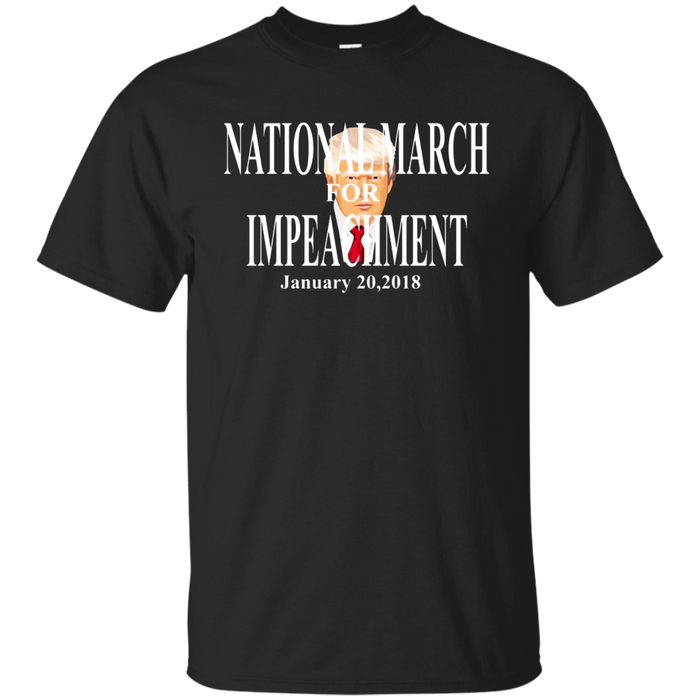National March Impeachment Trump Resistance Novelty T Shirt