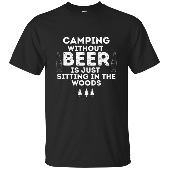 Outdoor funny camping t-shirt Hiking gift