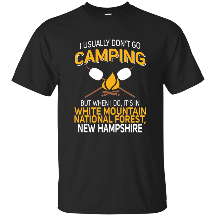 White Mountain National Forest New Hampshire Camping T-Shirt