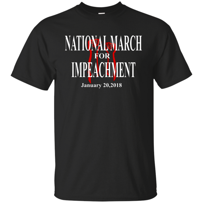 National March Impeachment Anti Trump Tshirt T Shirt Tee