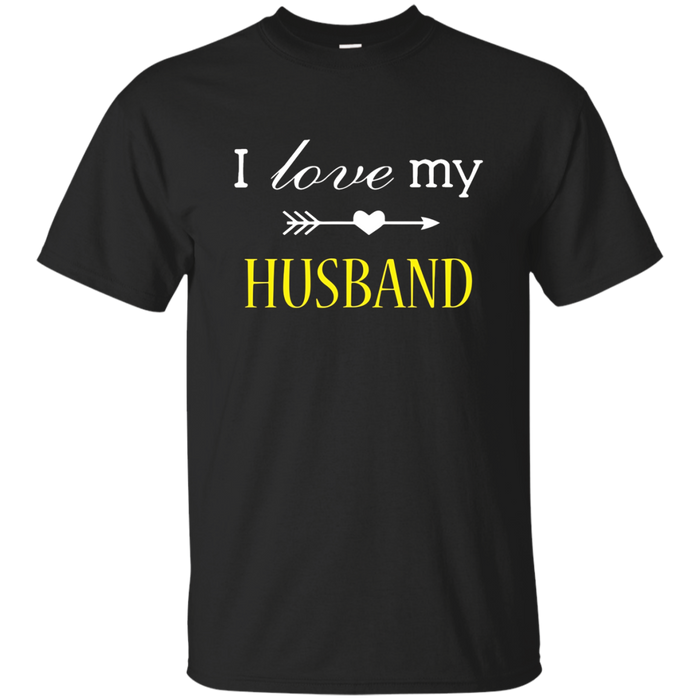 Women's I Love My Awesome Husband T-Shirt