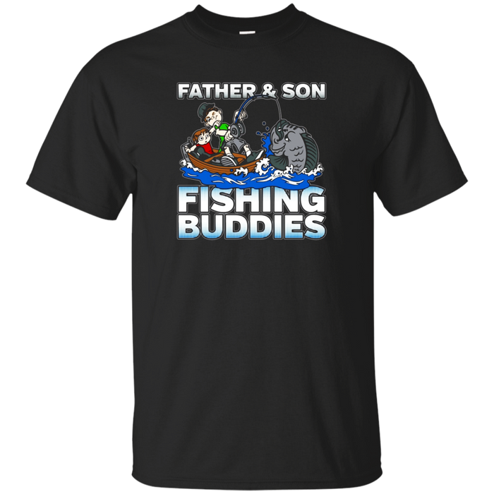 Father and Son Fishing Buddies T-shirt