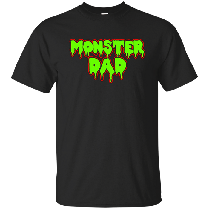 Mens Halloween Monster Dad T-Shirt For Trick Or Treating Parent
