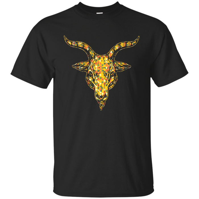 Goat T-shirt - Goat Face Geometric Shirt