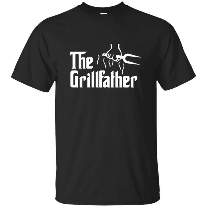 The Grillfather BBQ Barbecue and Grilling Dad Father T Shirt