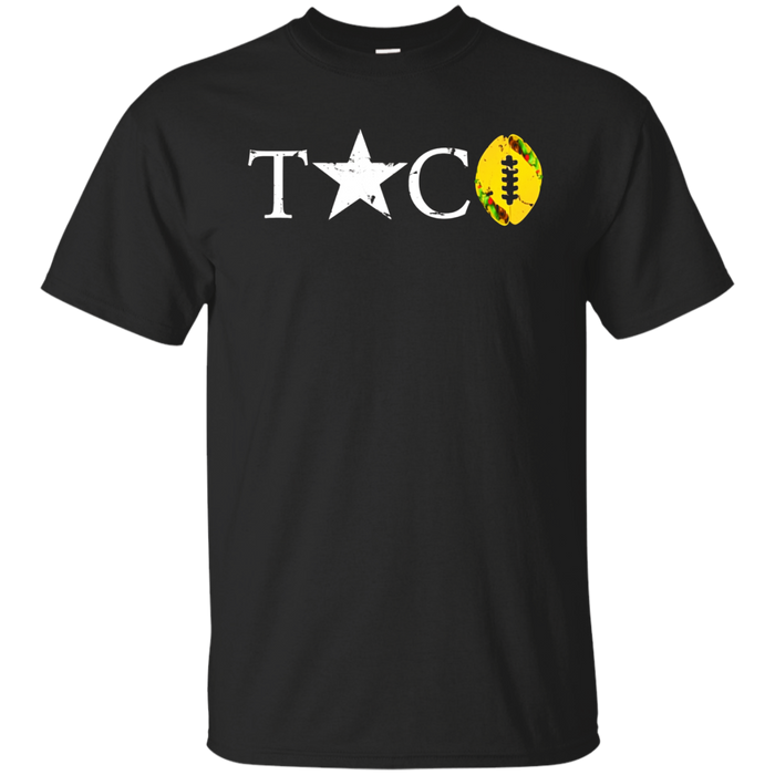 Epic Taco Football Star T-Shirt, Vintage