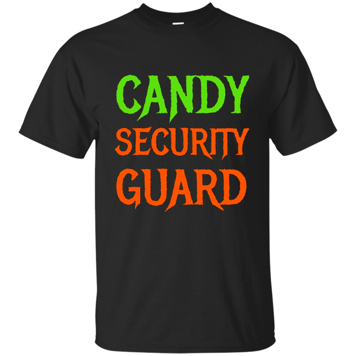 Candy Security Guard Funny Halloween T Shirt for Parents