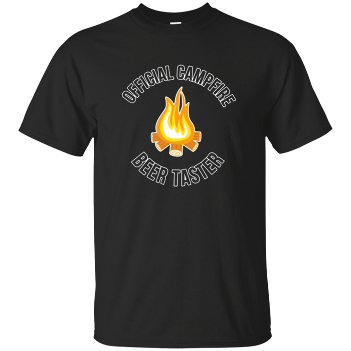 Official Campfire Beer Taster Funny Camping T-Shirt