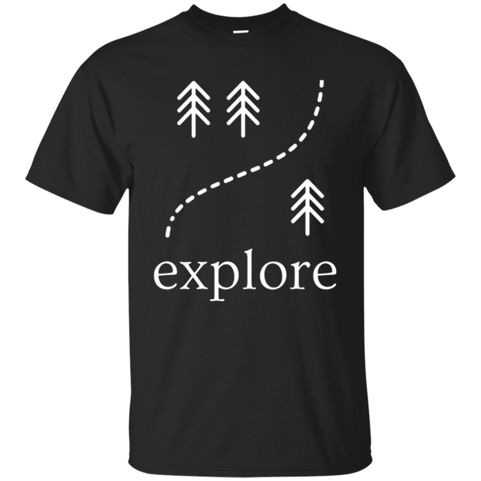 Explore Nature Outdoors Adventure Hiking Camping T-shirt