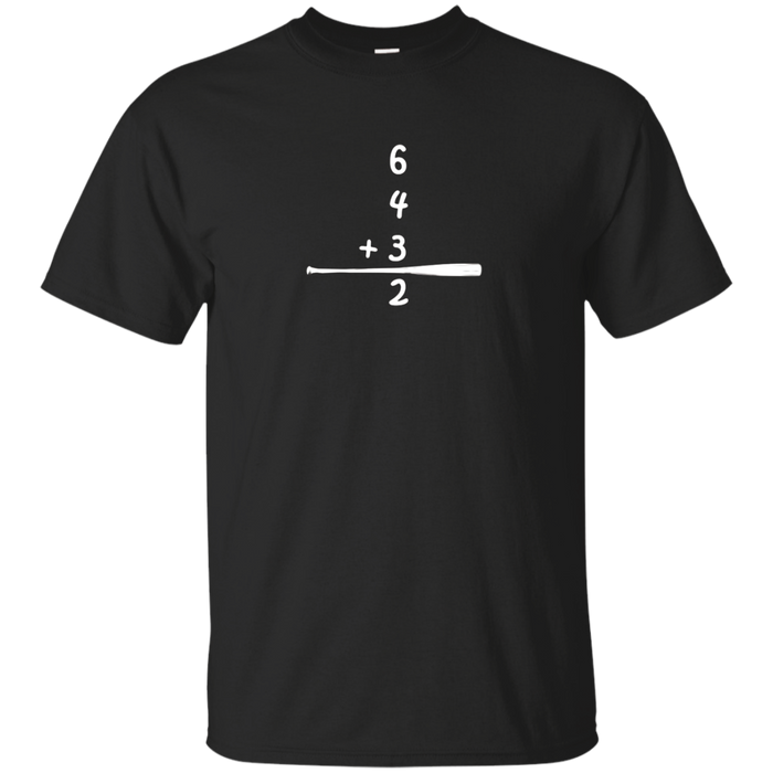 Classic Baseball 6-4-3-2 Double Play T-Shirt