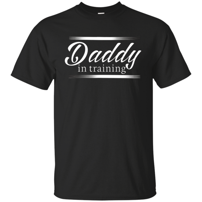 Funny Expecting Father T-shirt Cute Daddy Tee