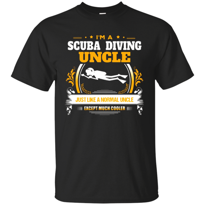 Funny Scuba Diving Uncle Tshirt Christmas Gift for Uncle