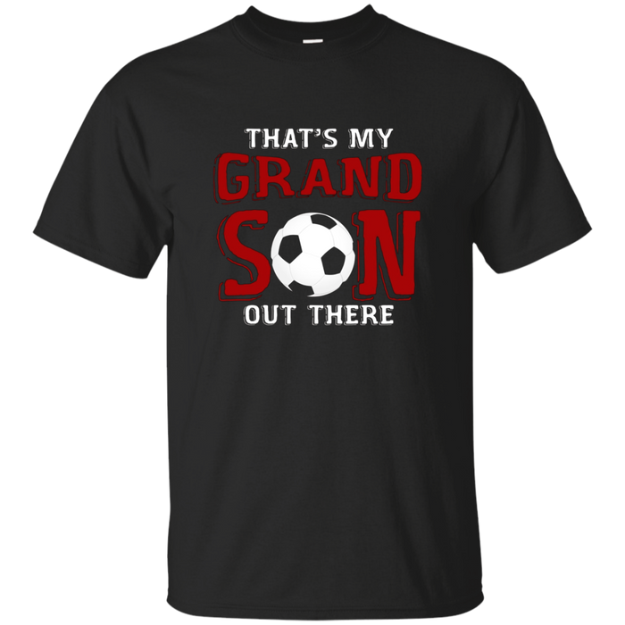 Soccer Grandson T-shirt for Soccer Grandparents