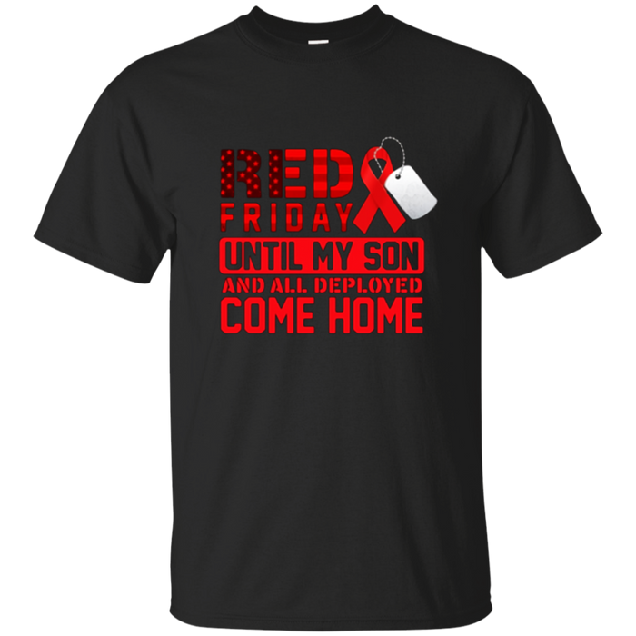 Red Friday Novelty Tshirt For Loving Parents