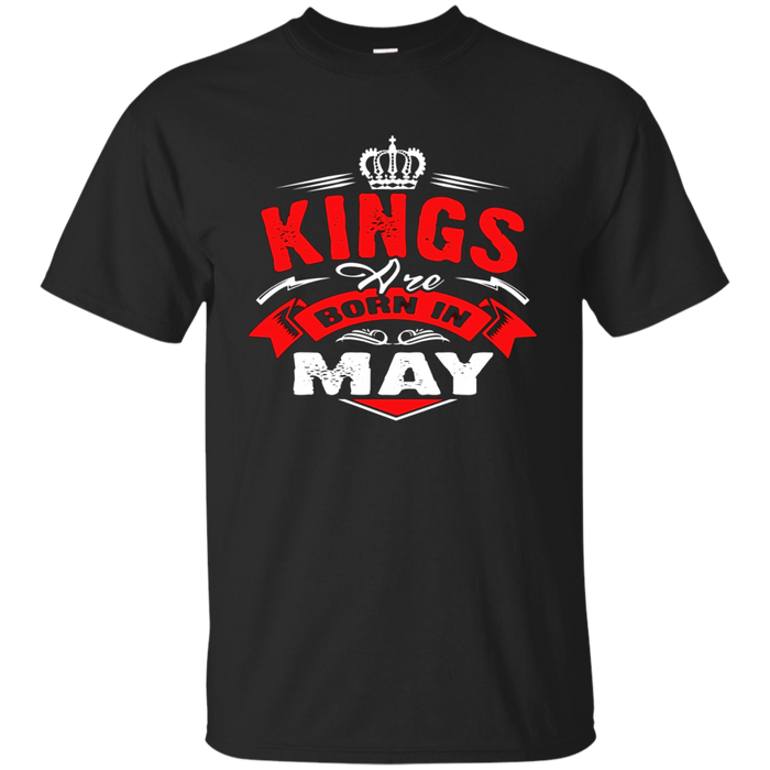 King Are Born In May T-Shirt