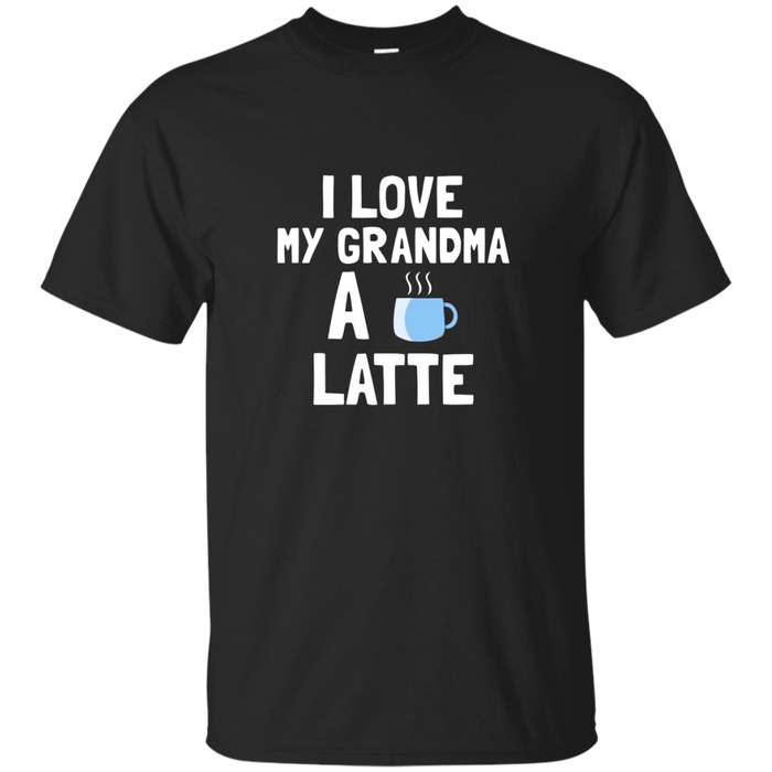 National Grandparents Day Gift Love Grandma A Latte T Shirt