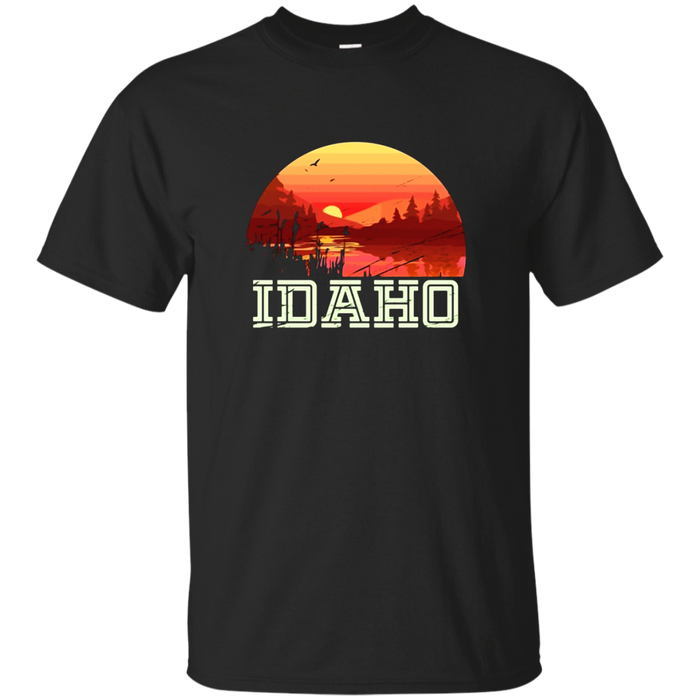 Vintage Idaho Outdoors Adventures Hiking T Shirt