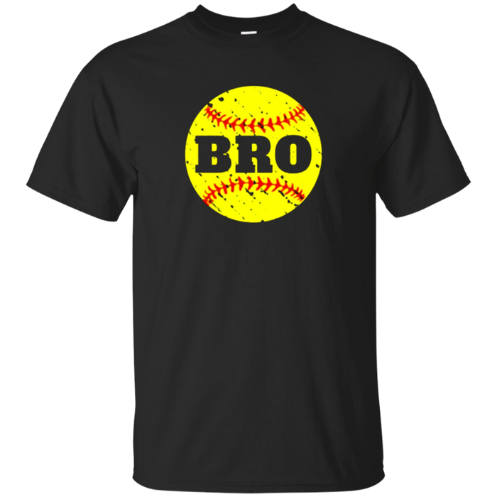 Softball Bro Cool Brother T Shirt