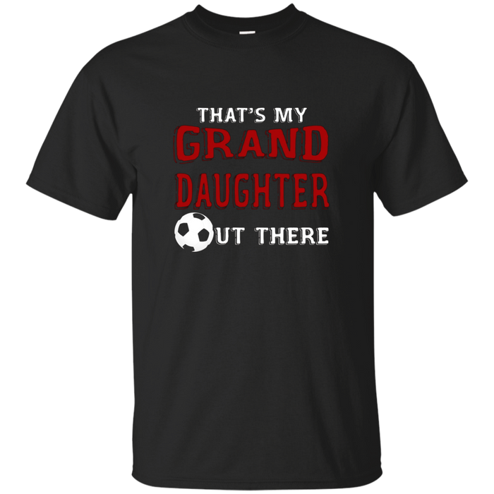 Soccer Granddaughter T-shirt for Soccer Grandparents