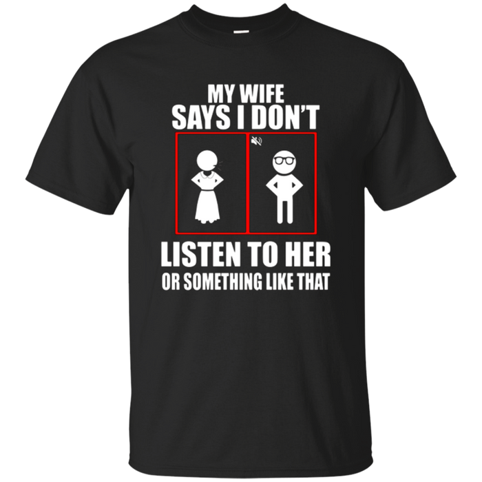 Funny T-Shirt For Husband. Birthday Gift From Wife.