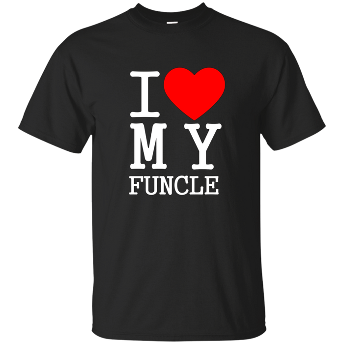 I Love My Funcle Uncle T Shirt for Niece and Nephew Gift