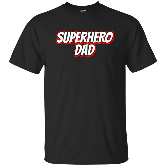 Mens Halloween Superhero Dad T-Shirt For Trick Or Treating Parent