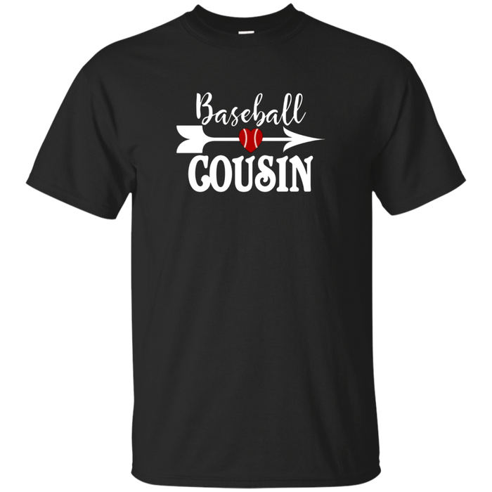 Baseball Cousin Tshirt Girls Proud Birthday Gift Niece