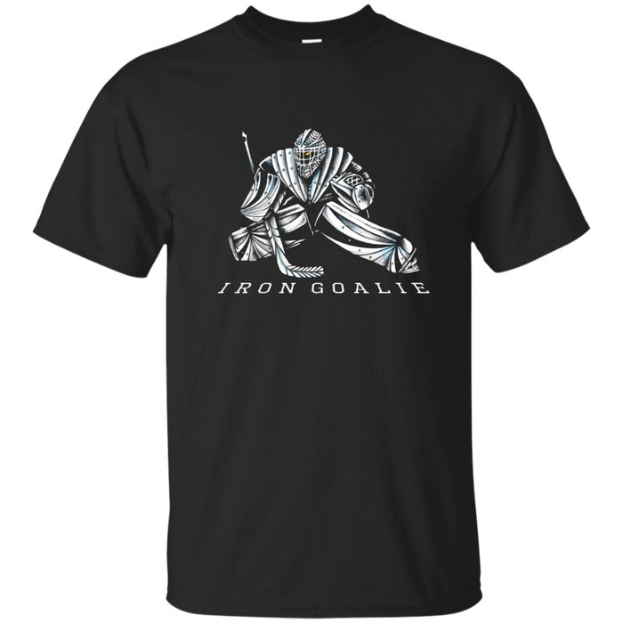 Iron Goalie hockey T Shirt