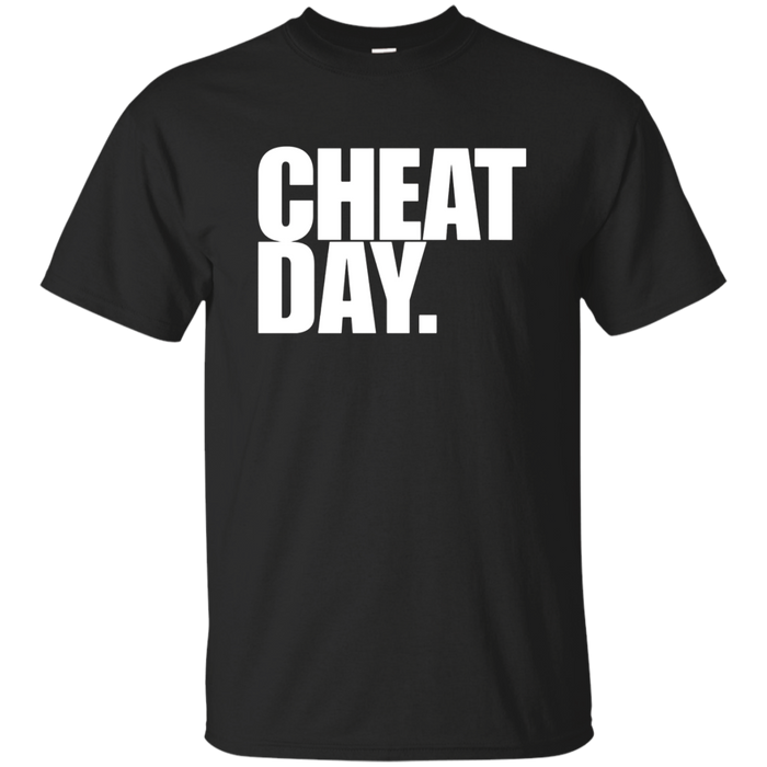CHEAT DAY Gym T-Shirt Running Jogging Run Muscle