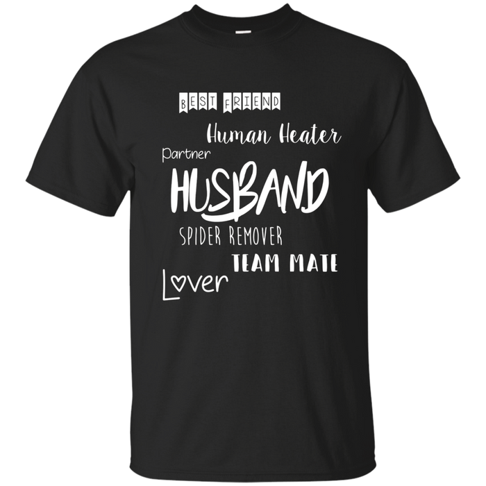 AM Husband T-Shirts With Sayings Husband, Best Friend, Lover