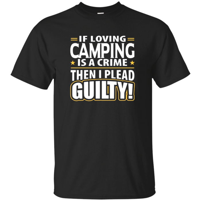 Love Camping T-Shirt for Men Women