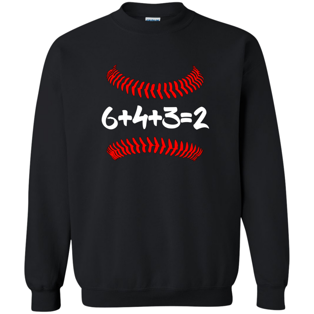 6 4 3 2 Baseball Mom and Dad T shirt Gift - 6+4+3=2 math
