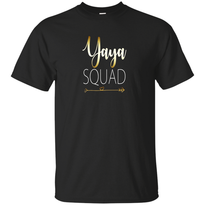 Nana Squad Grandparents Day gift T-shirt Yaya Nona Grandma