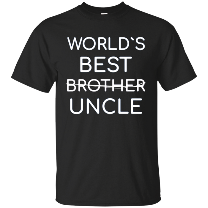 Uncle Tee Shirt World's Best Uncle To Be Nephew T-Shirt