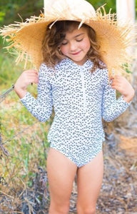 COCO -  Long Sleeve Girls Swimsuit