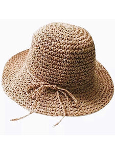 Raffia Sun Hat- Children's Size