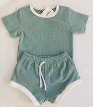 Summer Sets - Mint - Coco & Me - Children's swimwear - Australian swimwear - sun safe - UPF 50+ - Australian kids swimwear