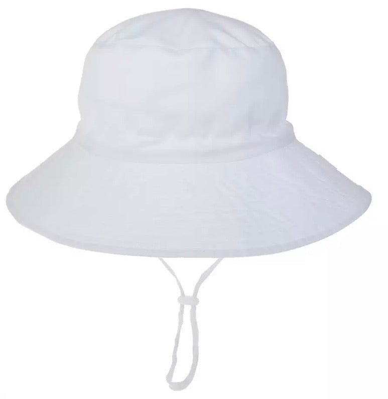 Kids Swimming Hat - White - Coco & Me - Children's swimwear - Australian swimwear - sun safe - UPF 50+ - Australian kids swimwear