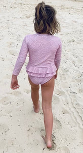 ROSIE  -  Long Sleeve Swimsuit