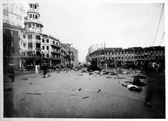 Great World centre after bombing in 1937