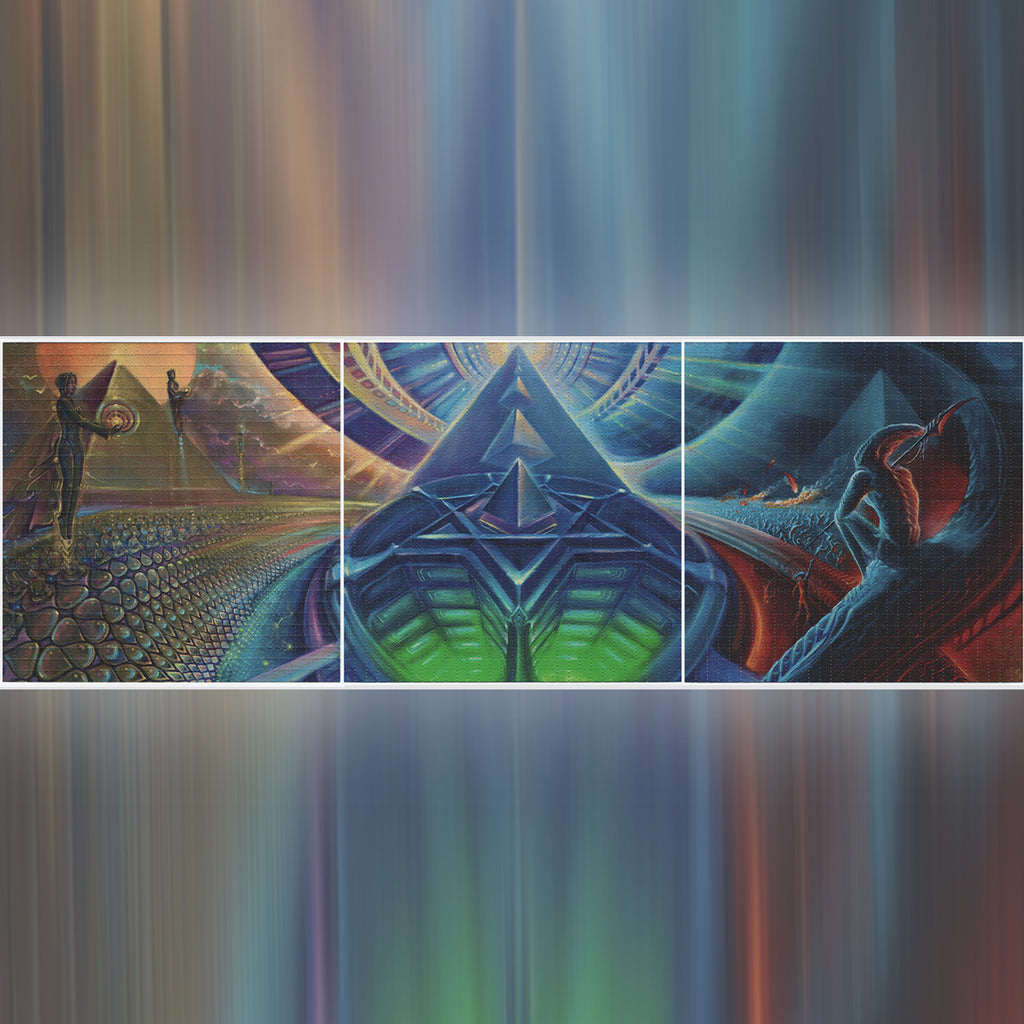 """Reach Out and Beyond"" Blotter Print Set"