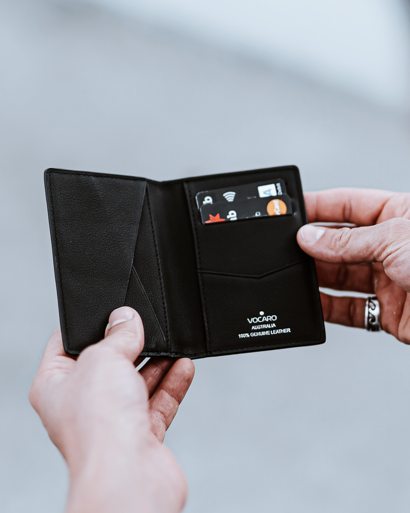 VOCARO - Pocket Organiser - Bifold Wallets Small Leather Goods Australia