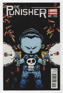 Punisher #1 Variant Cover Front